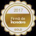 Firma de incredere gold 2017