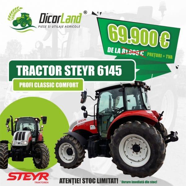"TRACTOR STEYR 6145 ""PROFI CLASSIC COMFORT"""
