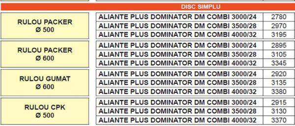 aliante plus dominator dm combi v