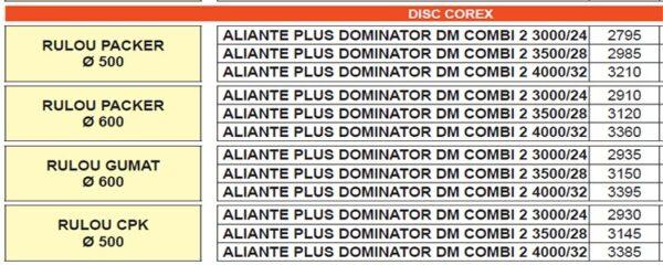 aliante plus dominator dm combi2.1