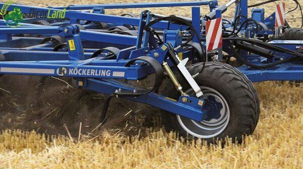 Cultivatorul hidraulic reglabil VARIO – Köckerling