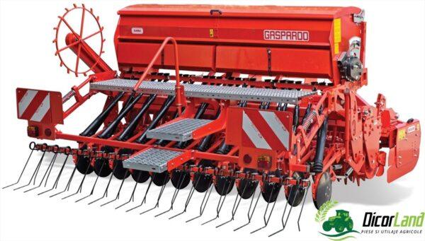 Grapa rotativa combinata cu semanatoare pentru cereale DAMA PLUS DRAGO DC COMBI 2- Maschio Gaspardo