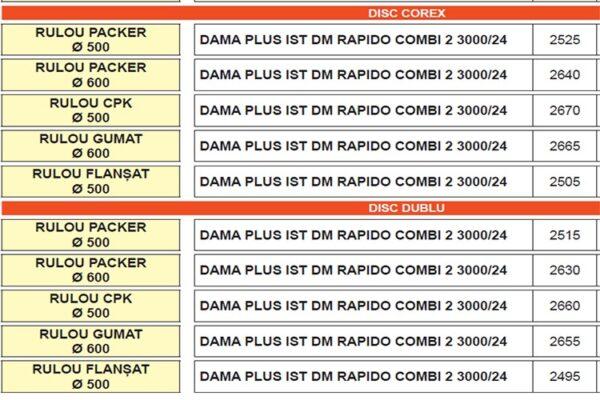 dama plus isotronic dm rapido combi 2.1