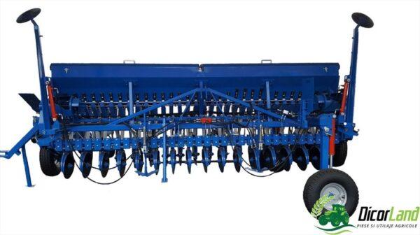Semanatoare pentru plante paioase SUP 32 DKFLT  DIVA (cu roti de tasare) – Mecanica Ceahlau