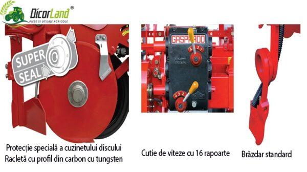 Semanatoare pneumatica de precizie pentru plante prasitoare MAGICA MTR PLUS – Maschio Gaspardo