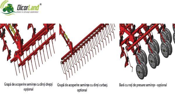 Semanatoare pneumatica pentru cereale PRIMAVERA GENIUS MASTER- Maschio Gaspardo