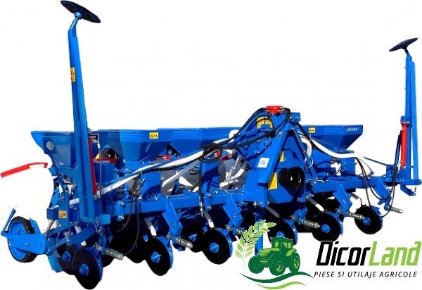Semanatoare pentru plante prasitoare SPC 6DF PROFI – Mecanica Ceahlau