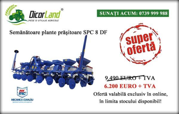 Semanatoare SPC 8 DF – Mecanica Ceahlau