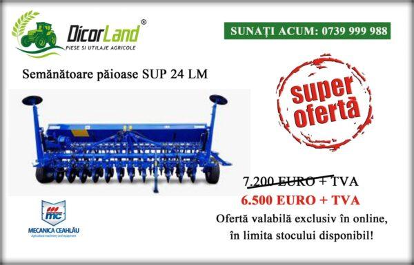 Semanatoare plante paioase SUP 24 LM – Mecanica Ceahlau