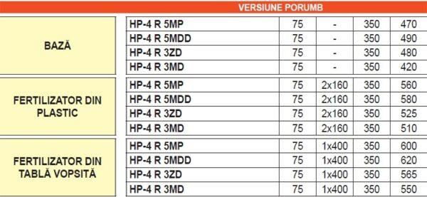 Prasitoare cu cadru rabatabil manual HP – Maschio Gaspardo