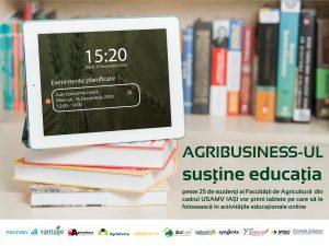 Agribusiness-ul românesc susține educația!