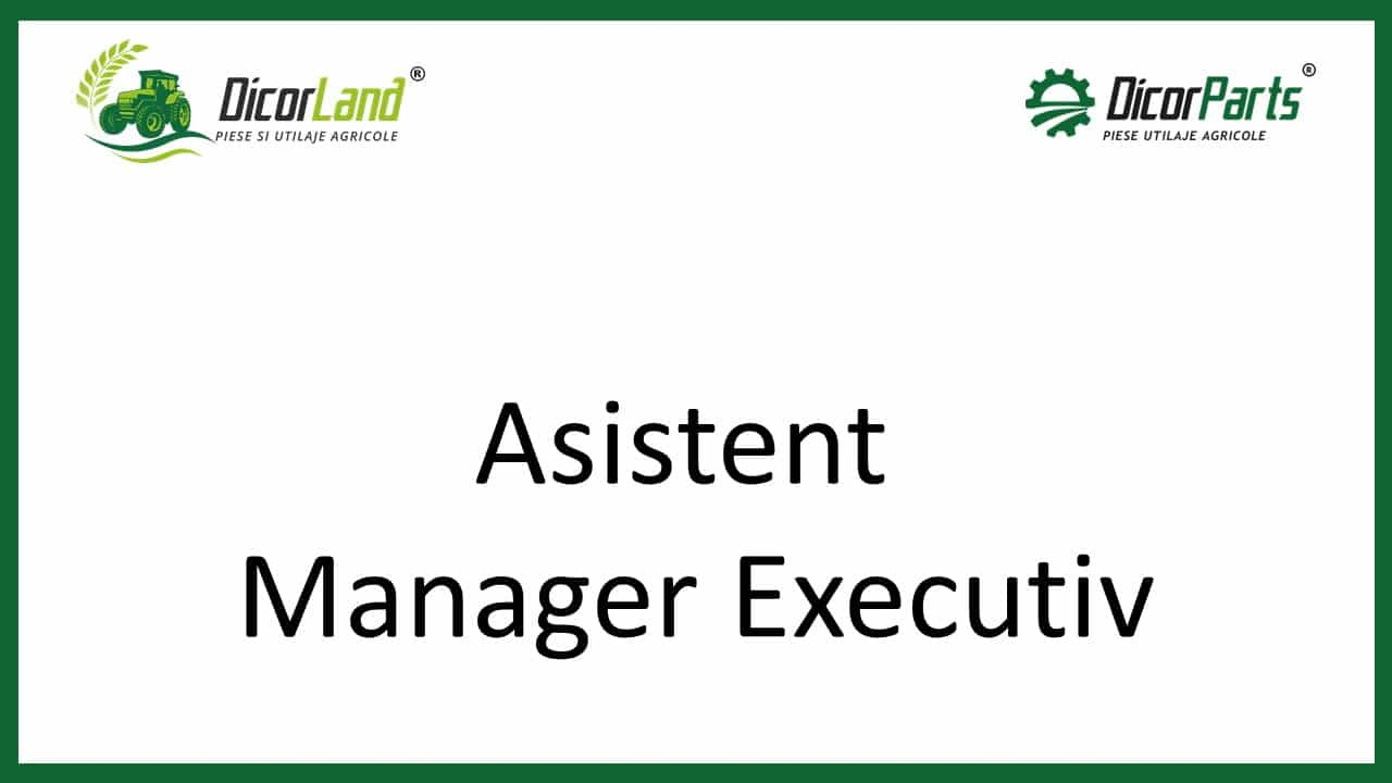 Asistent Manager Executiv