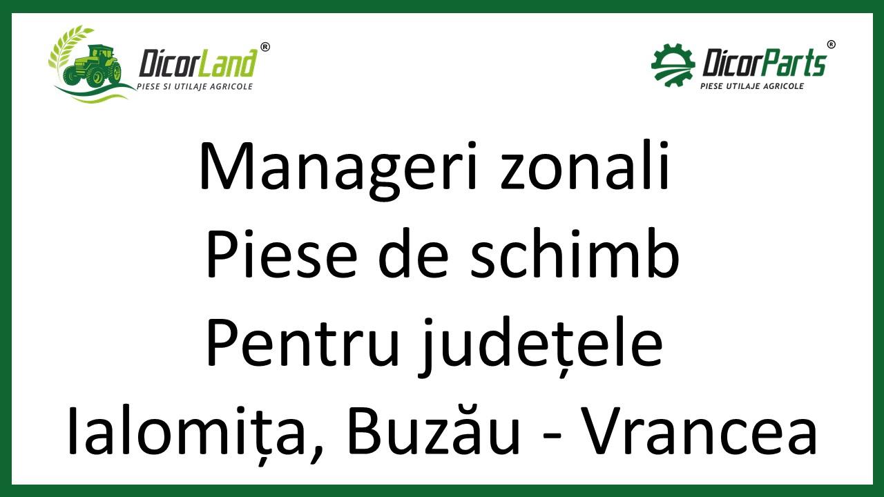 Manageri zonali piese de schimb, pentru judetele IL, Buzau – Vrancea