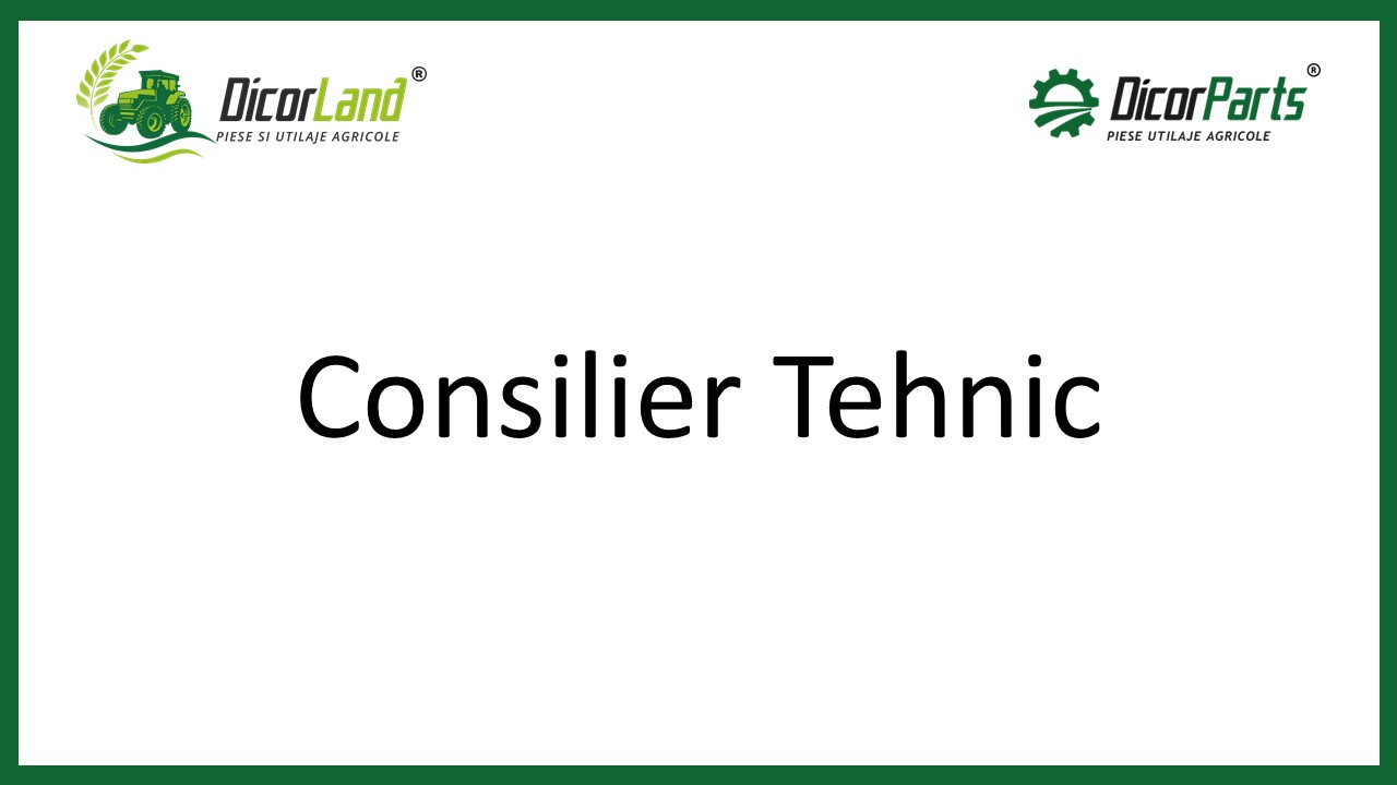 Consilier tehnic