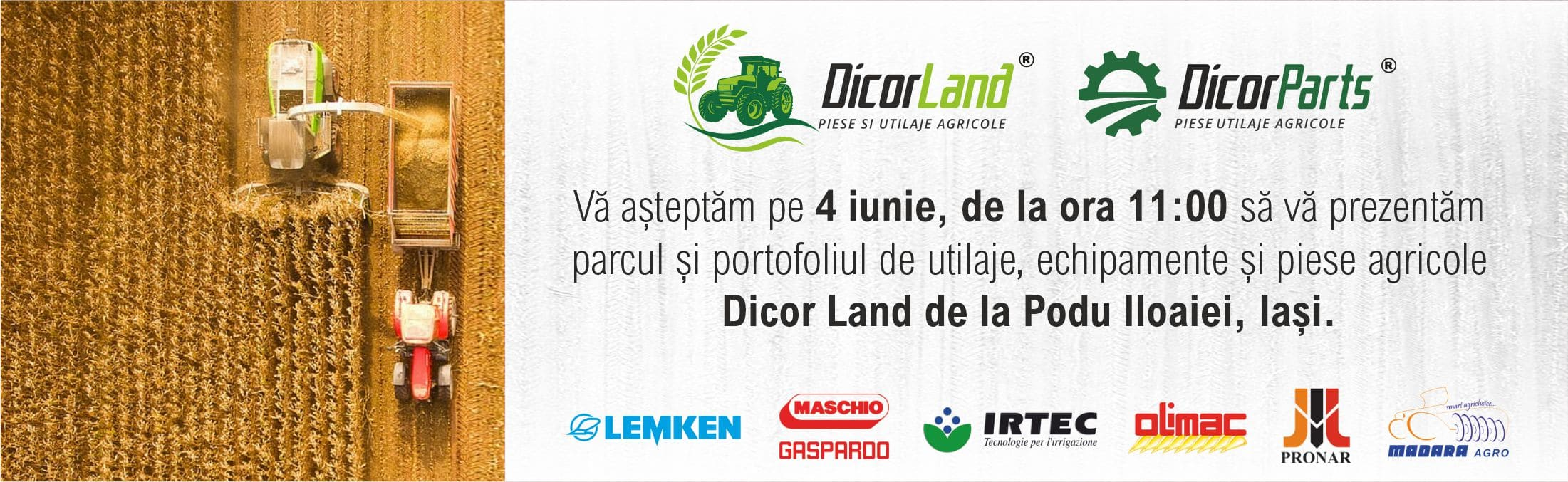 Eveniment Dicor Land la Iași – 4 iunie