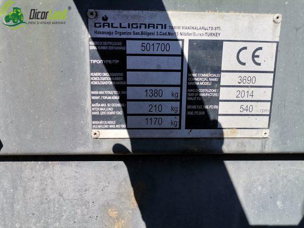 FERTILIZATOR CENTRIFUGAL ZENO 32 + INALTATOR 1600 L – MASCHIO GASPARDO
