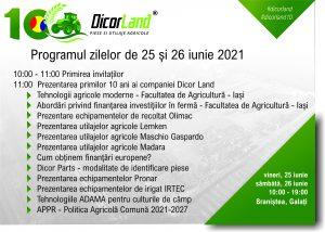 Aniversare Dicor Land 10 ani – programul evenimentului