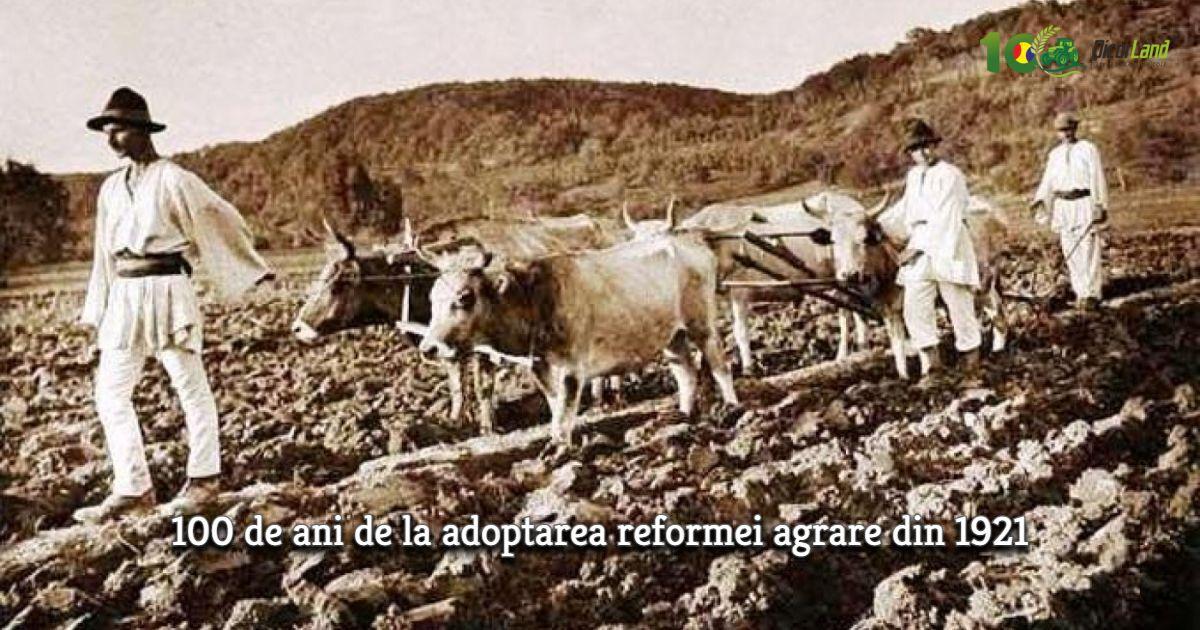 100 de ani de reformă agrară
