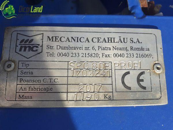 SEMANATOARE SPC 8 DF PROFI – Mecanica Ceahlau