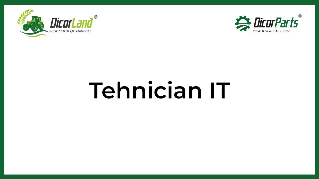 Tehnician it